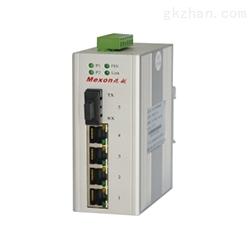 卡轨式百兆非网管POE工业以太网交换机
