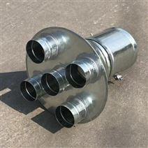 排风管道 镀锌螺旋风管吸头厚度