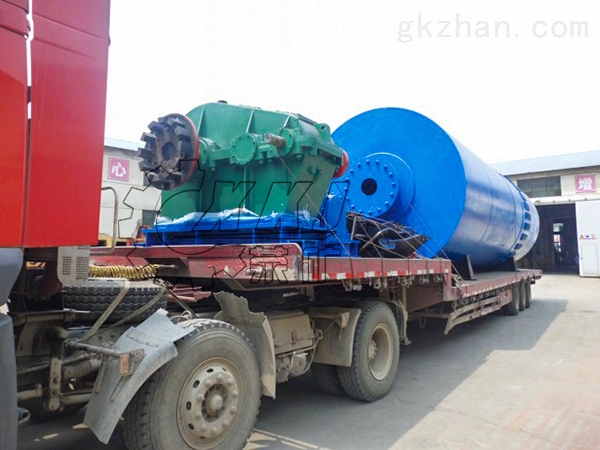 郑州时产18吨石英回转窑齿轮如何修补