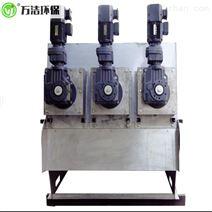 万洁环保403型叠螺式压滤机自动化程度高