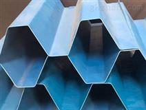 PVC斜管填料蜂窝填料