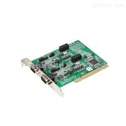 研华采集卡2端口PCI通信卡
