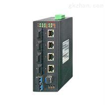 卡轨式千兆非网管POE工业以太网交换机