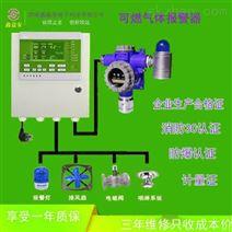 工业锅炉房喷漆房地可燃气体报警器