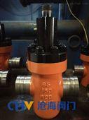 远程供液GZF63Y超高压沟槽式闸阀