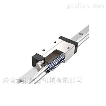 低组装带钢珠保持器型直线导轨