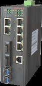卡轨式百兆网管型工业以太网交换机