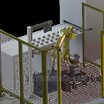 汉振活塞3D视觉机器人无序上料系统