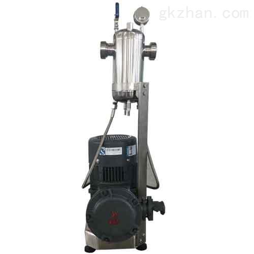 气硅光油高剪切研磨分散机