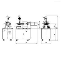 普同桌面密炼机55ml高强度间隙性混炼非标准