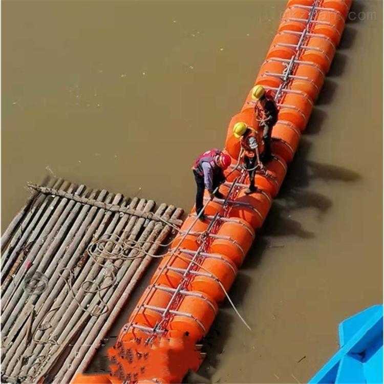 水上圆柱形拦污浮漂 中间4公分通孔