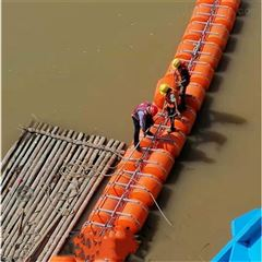 水藻拦污屏漂排 200*1000拦污浮筒