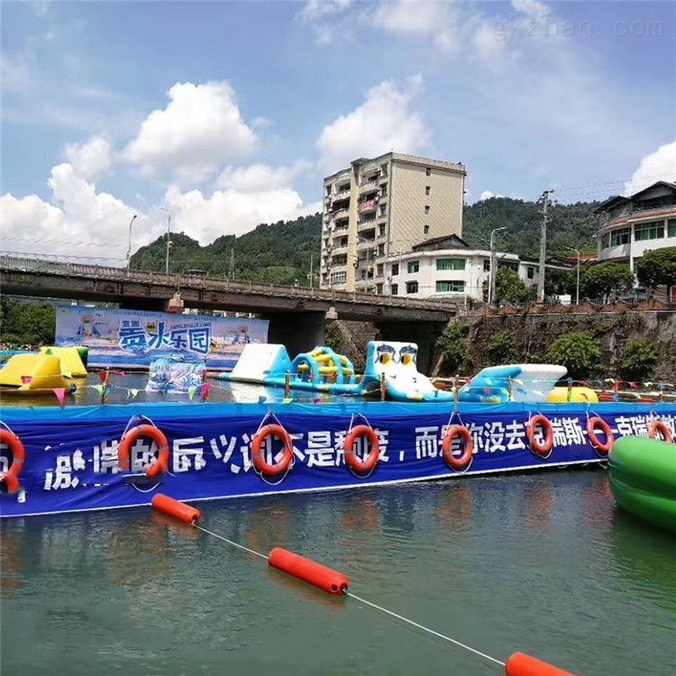 水电站拦污排 自浮式拦垃圾浮筒