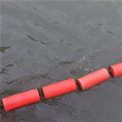 河道拦垃圾浮筒 拦污塑料浮筒200米拦截