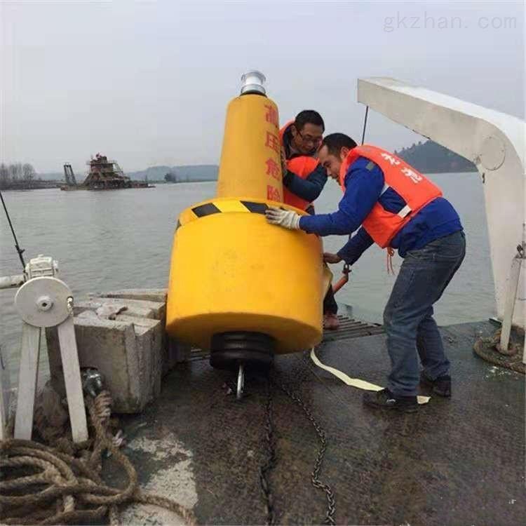 深海大PE浮标 夜航太阳能灯航标