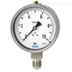 WIKA 威卡波登管压力表 标准型 232.50,233.50