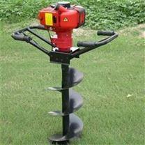 汽油手持式挖坑机便携式