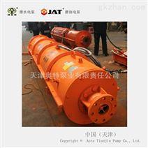 QK系列大排量矿车式卧用潜水泵