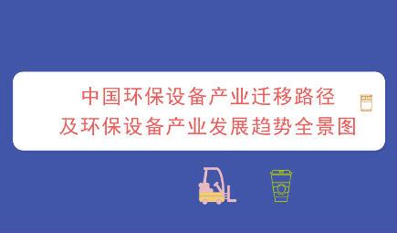 中国环保设备产业迁移路径及环保设备产业发展趋势全景图