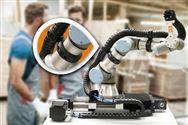 快速裝配,安全牢固:用于協作機器人的新型拖鏈安裝夾具