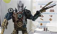 工匠社與騰訊王者榮耀聯合打造盾山機器人,ChinaJoy首亮相