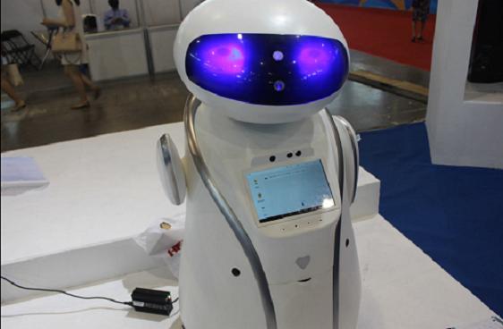 """百度智能云与东软集团推出""""医护助理""""智能机器人"""