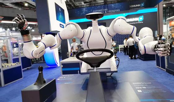 �C器人助力�凸�彤a 市�鲈鲩L或呈�F��特���