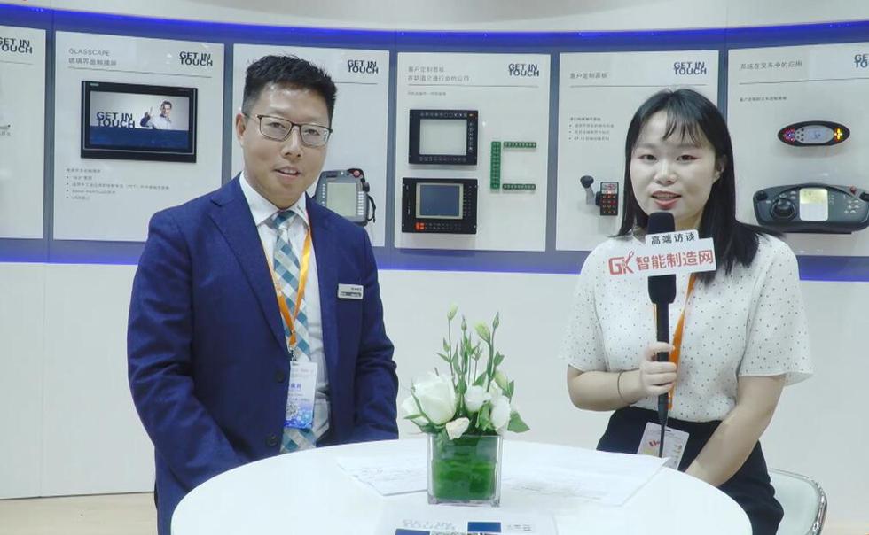 纳安斐电子销售经理陈华映接受本网采访