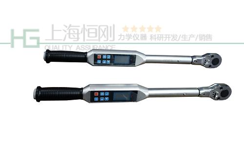 棘轮可换向式电子数显扭力扳手图片(棘轮头)