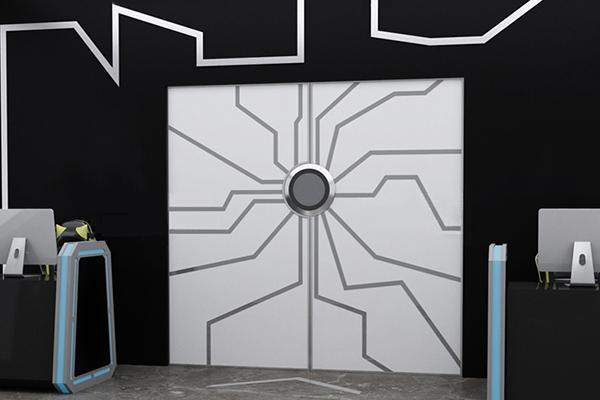 电子感应网红门