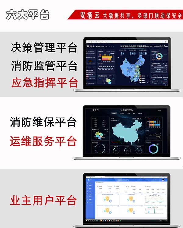 城市智慧消防物联网系统平台