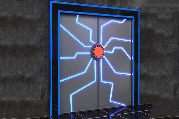 智能发光门
