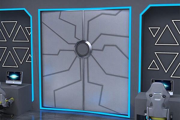 有科技感的展厅门