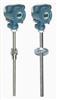 WRNB-440S   0-1300℃天康WRNB-440S固定法兰式带温度变送器防爆热电偶