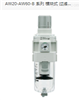 AW30-N02BG-2-B-X430特殊SMC过滤减压阀:常用操作资料
