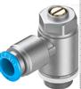GRLA-1/4-QS-8-D可靠型FESTO单向节流阀技术参数