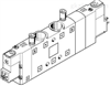 CPE24-M1H-5/3ES-3/8FESTO的紧凑型电磁阀,费斯托阀资料参考